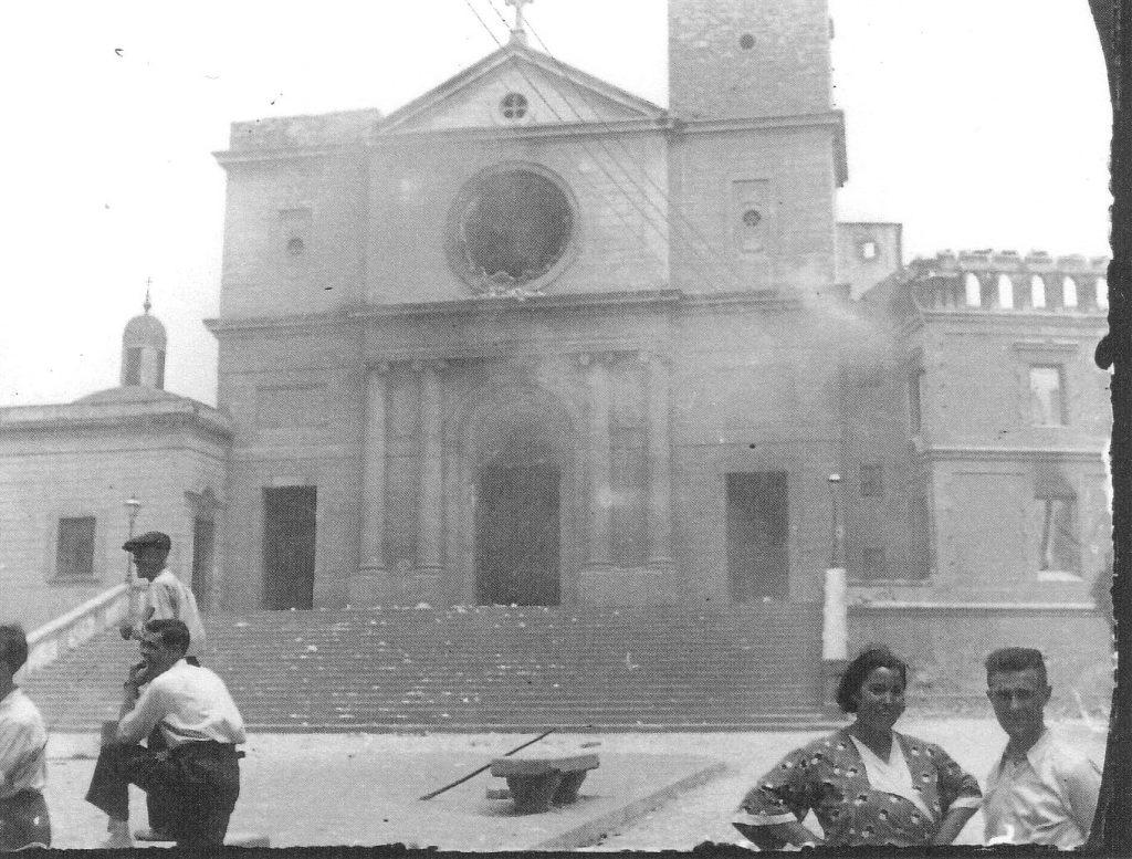 Crema de Santa Maria de Sants. Juliol de 1936. Arxiu Històric de Sants-Montjuïc.